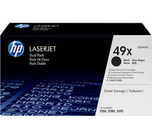 HP Q5949XD, black, 2-pack
