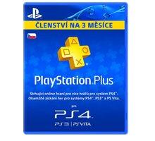 Playstation Plus Card - 90 dní - PS719810742