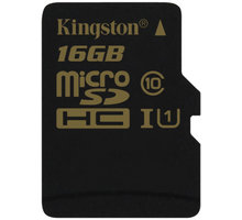 Kingston Micro SDHC 16GB Class 10 UHS-I - SDCA10/16GBSP