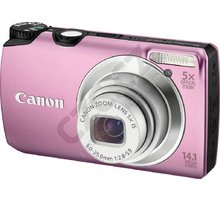 Canon PowerShot A3200, růžový
