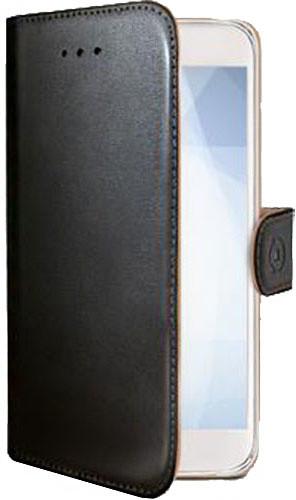 CELLY Wally pouzdro typu kniha pro Samsung Galaxy Xcover 3, PU kůže, černá
