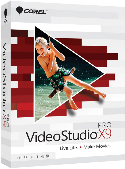 Corel VideoStudio Pro X9 Classroom License 15+1