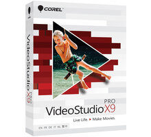 Corel VideoStudio Pro X9 Education License (1-4) - LCVSPRX9MLA1