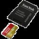SanDisk Micro SDHC Extreme 32GB 90MB/s UHS-I U3 V30 pro akční kamery + SD adaptér