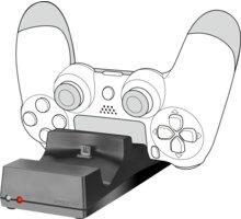 Speed Link Jazz, nabíječka pro PS4 - SL-450000-BK