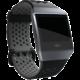Fitbit Ionic sportovní řemínek černošedý - velikost S
