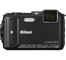 Nikon Coolpix AW130, černá - VNA840E1