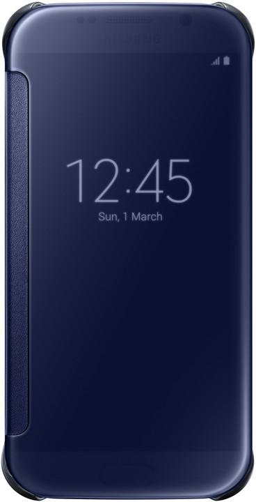 Samsung Clear View EF-ZG920B pouzdro pro Galaxy S6 (G920), černá
