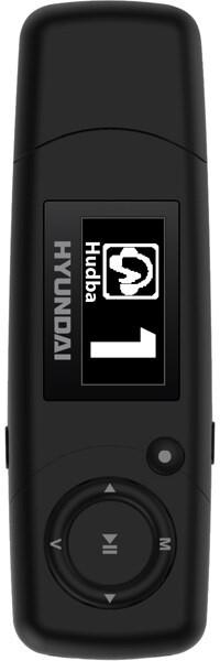 Hyundai MP 366 FM, 8GB, černá
