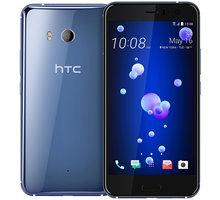 HTC U11 - 64GB, Amazing Silver, modrá - 99HAMP034-00