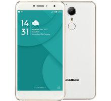 DOOGEE F7 Pro - 32GB, zlatá/bílá - PH2072 + Zdarma CulCharge MicroUSB kabel - přívěsek (v ceně 249,-)