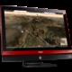 MSI Gaming 24 6QE 4K-011EU, černo-červená