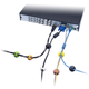 Connect IT kabelový klip SPOT, černá