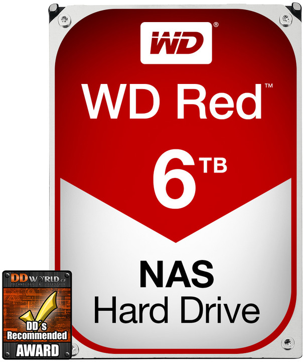 WD Red (EFRX) - 6TB