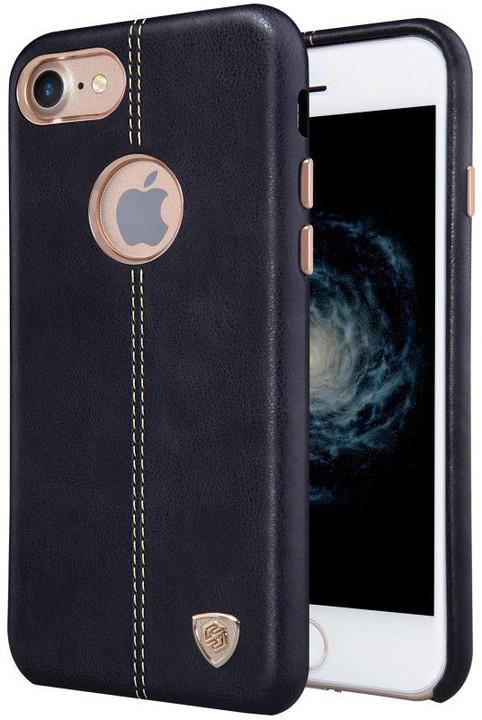Nillkin Eglon Ochranný Kožený zadní Kryt Black pro iPhone 7