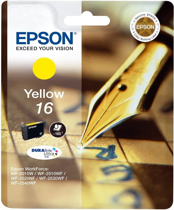 Epson C13T16244010, žlutá
