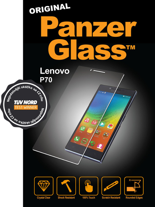 PanzerGlass ochranné sklo na displej pro Lenovo P70