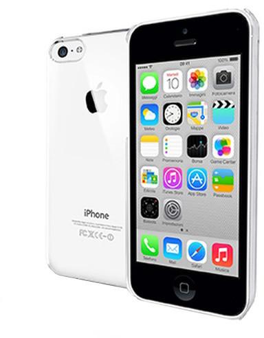 CELLY Gelskin pouzdro pro Apple iPhone 5C, čirá