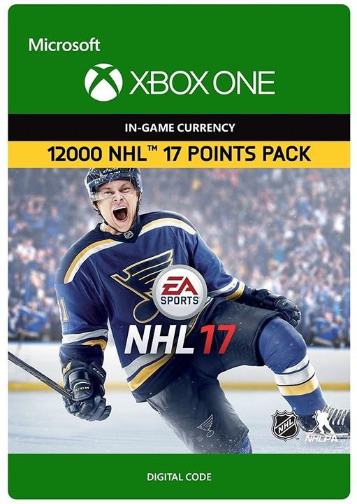 NHL 17 - 12000 NHL Points (Xbox ONE) - elektronicky