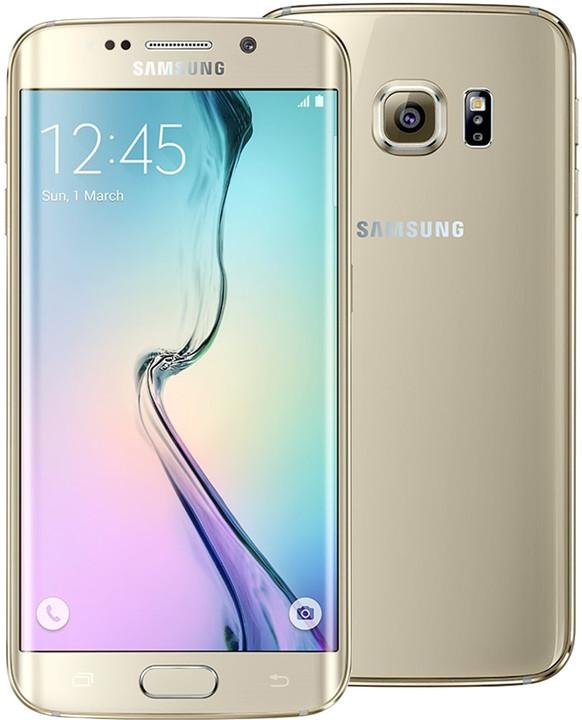 Samsung Galaxy S6 Edge - 32GB, zlatá