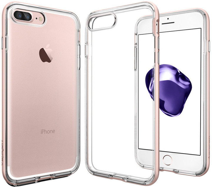 Spigen Neo Hybrid Crystal pro iPhone 7 Plus, rose gold