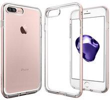 Spigen Neo Hybrid Crystal pro iPhone 7+, rose gold - 043CS20542