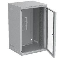 Solarix 9U, RAL 7035, skleněné dveře - 86110301
