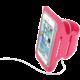 """CellularLine sportovní soft pouzdro ARMBAND FITNESS, pro smartphony do velikosti 5,2"""", fuchsiová"""