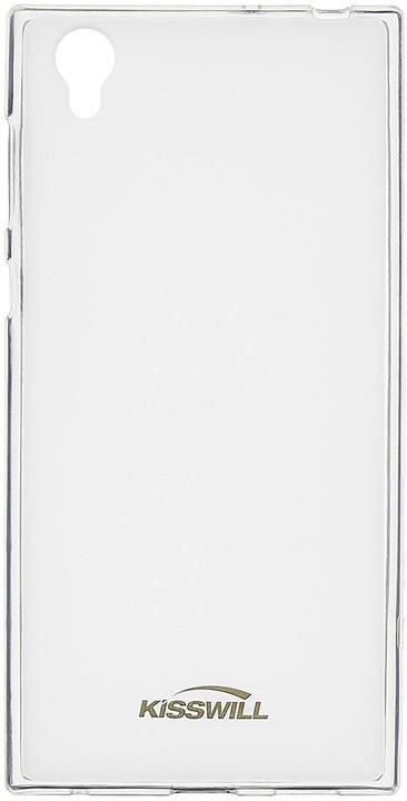 Kisswill TPU pouzdro pro Sony G3311 Xperia L1, transparentní