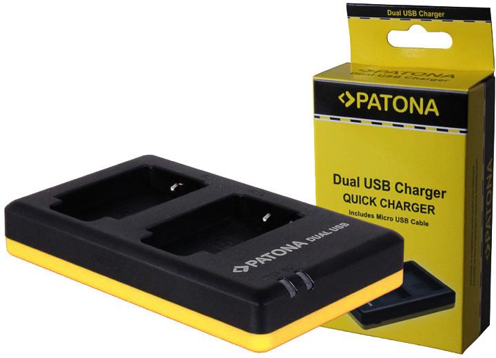 Patona nabíječka Dual Quick Nikon EN-EL12 USB