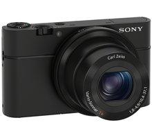 Sony Cybershot DSC-RX100, černá - DSCRX100.CEE8 + Paměťová karta SDHC 32GB Sandisk UHS-I (Class 10) v ceně 299 Kč
