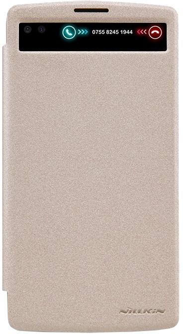 Nillkin Sparkle S-View pouzdro Gold pro LG V10