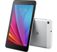 "Huawei T1 7"" - 8GB, stříbrná - TA-T170W8SOM + Zdarma GSM reproduktor Accent Funky Sound, červená (v ceně 299,-)"