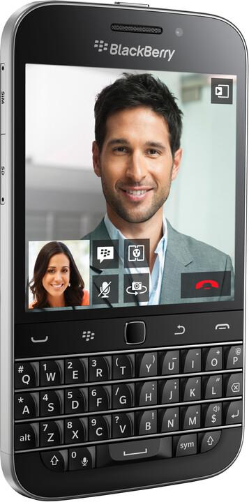 BlackBerry Classic, černá