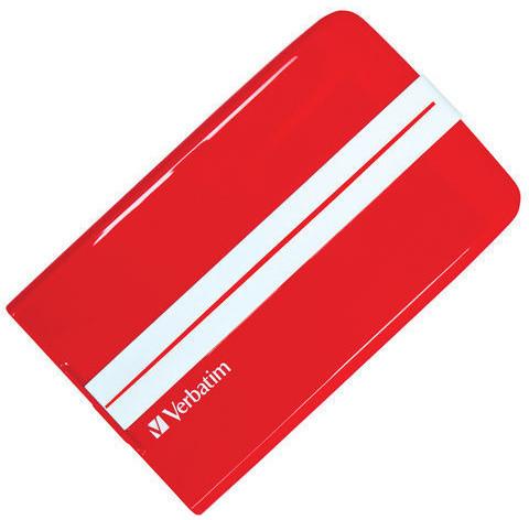 Verbatim Superspeed GT, USB 3.0 - 500GB, červený
