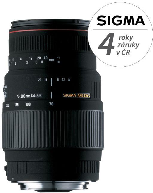 SIGMA 70-300/4-5.6 APO DG MACRO Nikon (Motor Drive)
