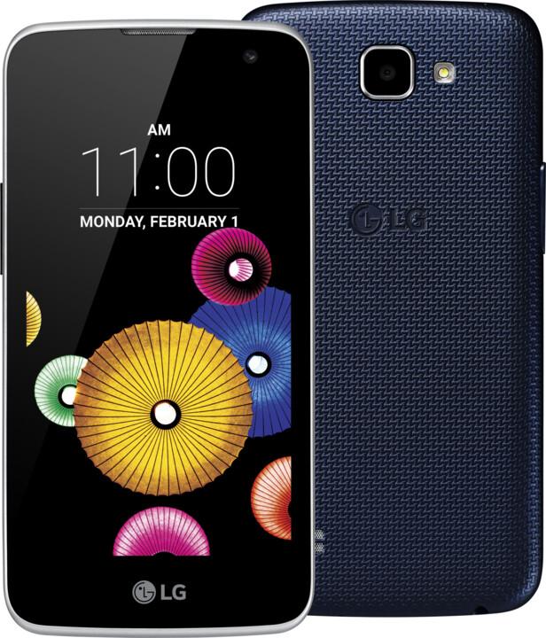 LG K4 (K130), Dual Sim, modrá/blue