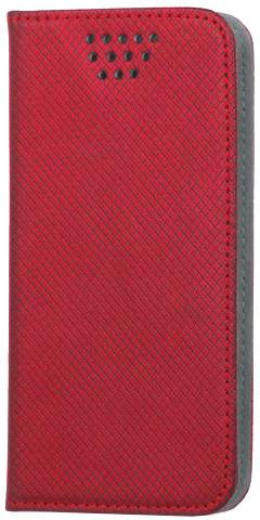 """Forever knížkové pouzdro (smartcase) typ b magnet univerzální 5,5-5,7"""" - červené"""