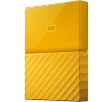 WD My Passport - 1TB, žlutá - WDBYNN0010BYL-WESN