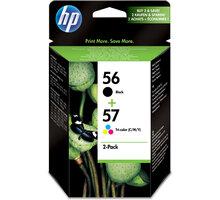 HP SA342AE, č. 56, č. 57, černá + barevná, Combo Pack – ušetřete až 20 % oproti standardní náplni