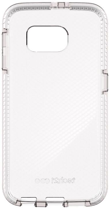 Tech21 zadní kryt Evo Check pro Galaxy S6, bíločirá