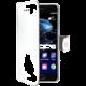 CELLY Wally Pouzdro typu kniha pro Huawei P10 Plus, PU kůže, bílé