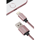 YENKEE YCU 601 RE USB / lightning kabel 1 m, růžová