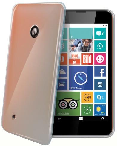 CELLY Gelskin pouzdro pro Nokia Lumia 530, bezbarvé