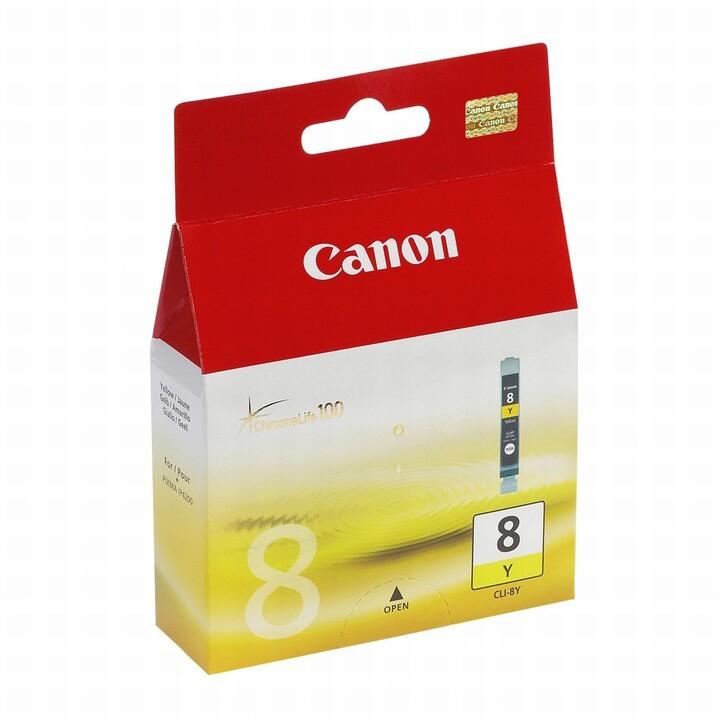Canon CLI-8Y, žlutá