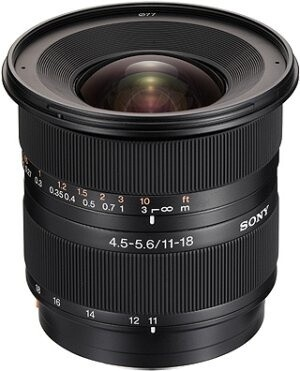 Sony DT 11–18mm f/4.5–5.6