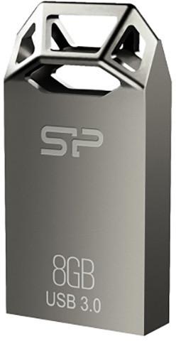 Silicon Power Jewel J50 - 8GB, stříbrná