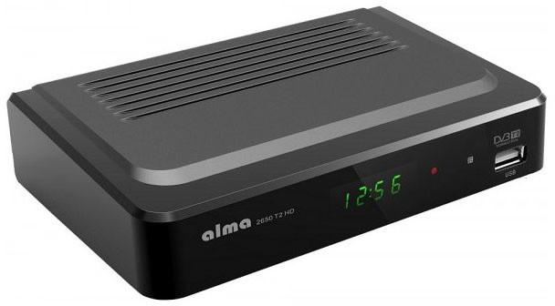 Alma 2650 T2 HD, černý