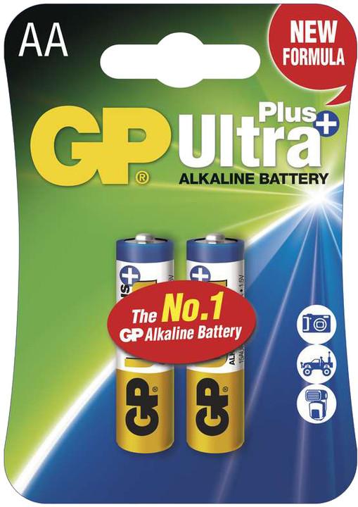 GP Ultra Plus, alkalická LR6 AA, 2ks
