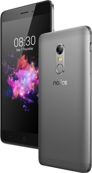 Neffos X1 - 16GB, šedá